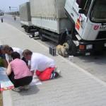 Hilfstransport Türkei