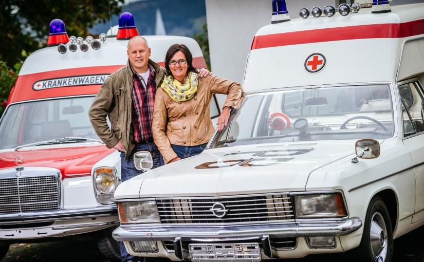 Rettungsdienst - Unser Opel Admiral KTW