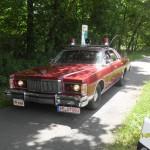 Mercury Grand Marquis mit Straßenräumlampen