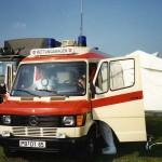 Rettungsdienst - Unser Verlegungs-RTW 1987