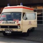Rettungsdienst - Unser VW LT 35 als RTW