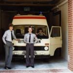 Rettungsdienst - Auf der Rettungswache im Jahre 1983