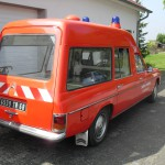Mercedes Benz 220 D/8 Transparent vor der Restauration