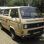 VW Bulli T3 von der Seite