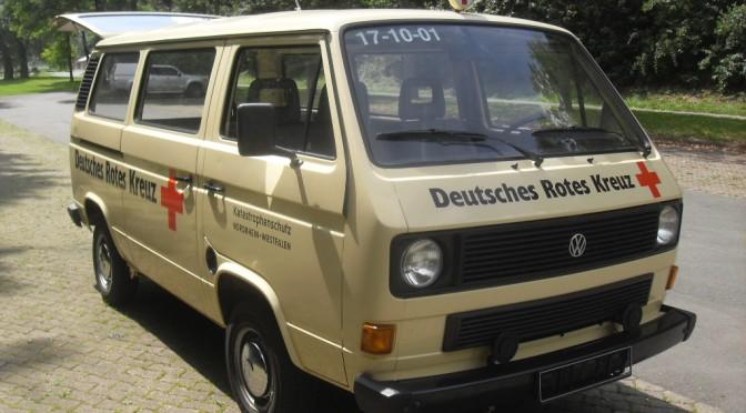 VW Bulli T3 MTW vom Katastrophenschutz