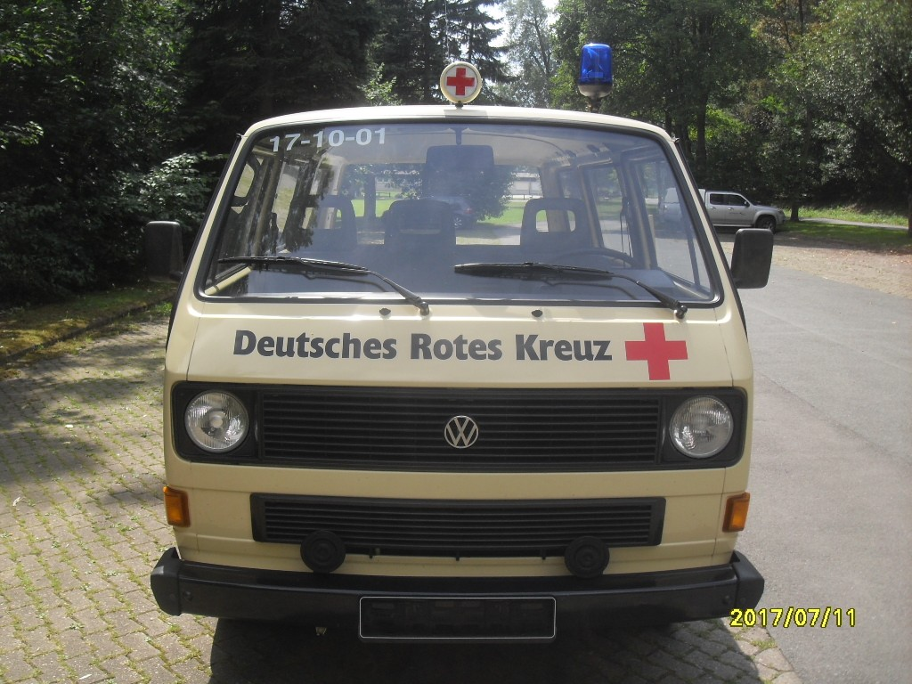 VW Bulli T3 von vorne