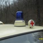 VW T3 Krankentransportwagen Blaulicht