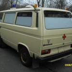VW T3 Krankentransportwagen Warnblinker