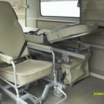 VW T3 Krankentransportwagen Innenraum