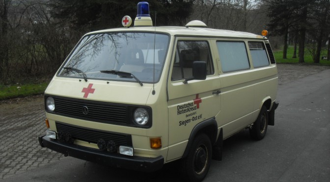 VW T3 Krankentransportwagen (KTW)